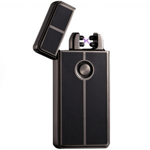 Double Electrical Arc Lighter USB Rechargeable