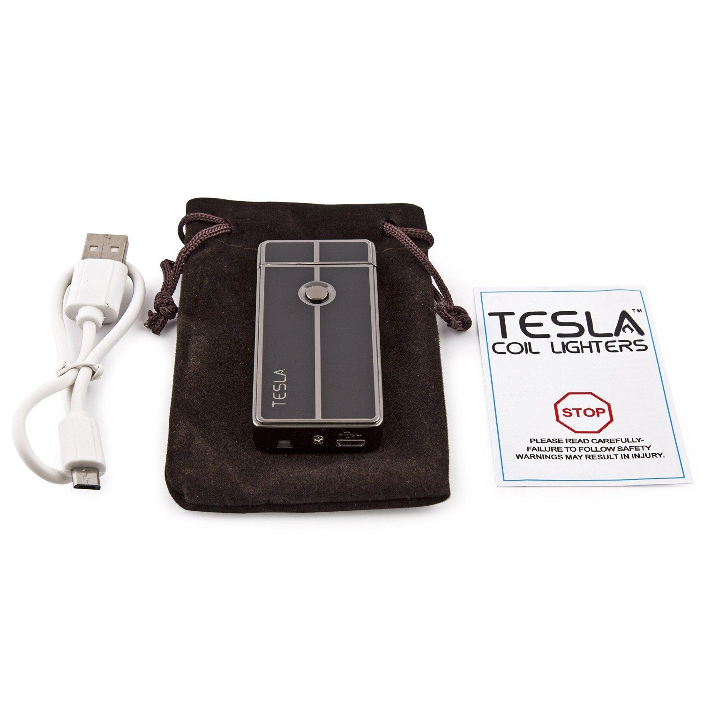 Fasjonable Arc Lighter Tesla USB Rechargeable | Electric Arc Lighter OG-89