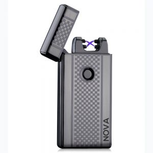 NOVA Lighter Electric Plasma Windproof Arc USB (Gun Metal Grey)